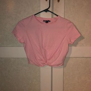 Girls forever 21 pink tee